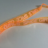 SPICE GIRLS // Necklace // Keychain // Lanyard // Spice Girls // Spice // Girls // Vaporwave Necklace // Vaporwave // 90s Necklace // 90s