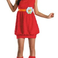 Disguise Sesame Street Elmo Teen Girls Costume, X-Large/14-16