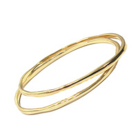 Hammered Oval Shape Bangle