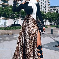 Dangerous Woman Leopard Print Skirt