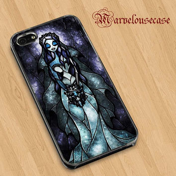 Tim Burton Corpse Bride glass  custom case for all phone case