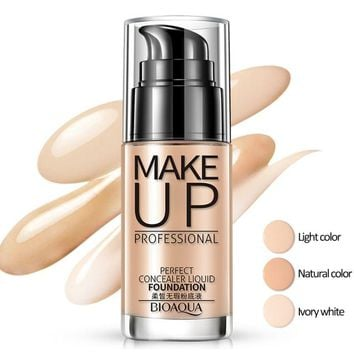 Face Foundation Makeup Base Liquid Foundation BB Cream Concealer Whitening Moisturizer Oil-control Maquiagem