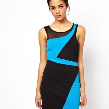 Ginger Fizz Blue Haven Bodycon Dress