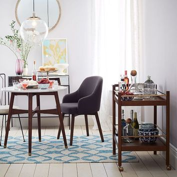 Reeve MidCentury Bistro Table From West Elm - West elm reeve dining table