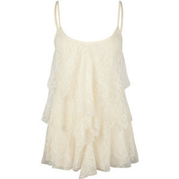 FULL TILT Tiered Lace Womens Tank 195693151 | tanks & camis | Tillys.com