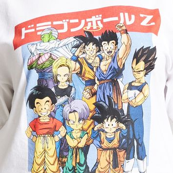 Plus Size Dragonball Z Graphic Tee