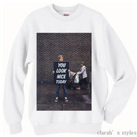 PREORDER Ed Sheeran Crew Neck Sweater And Long by ClarahStyles