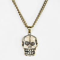 Urban Outfitters - Natalie B Jewelry Skull Necklace