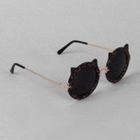 Cat Ears Round Sunglasses