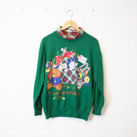 Vintage Ugly Christmas Sweatshirt