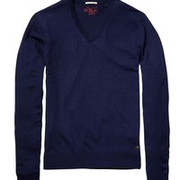 Cashmere V-Neck - Scotch & Soda