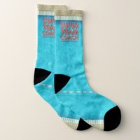 TOP Swim Team Coach Socks