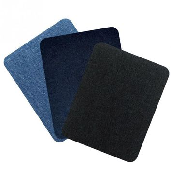 12Pcs/Lot Elbow Patches For Clothes DIY Jeans Iron On Patches Repair Pants Knee Applique Apparel Fabric Sewing Accessory