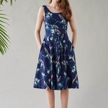 Isobel Hummingbird Occasion Dress | Emily and Fin