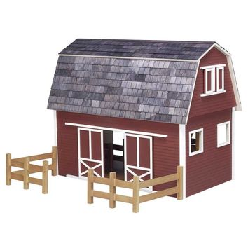 Barn Dollhouse Kit Ruff-n-Rustic