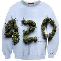 420 Sweater | Shelfies - Outrageous Sweaters
