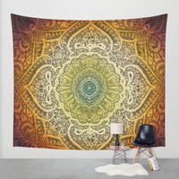Bohemian Lace Wall Tapestry by Jenndalyn | Society6