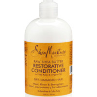 Restorative Conditioner for dry, damaged hair with organic Raw Shea Butter | Deep conditioning for treated hair from SheaMoisture