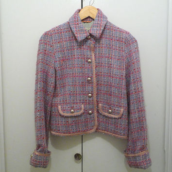1980s Abercrombie & Fitch Wool Jacket