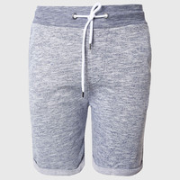 Plain Sweat Shorts Men Casual Home Shorts Summer Bottoms Solid Simple Design With Contrast Drawstring Waist