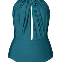 Cupshe Deep End Plunging One-piece Swimsuit