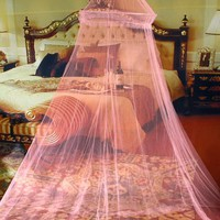 Elegant Round Lace Insect Bed Canopy Netting Curtain Dome Mosquito Net 2015 New House Bedding Decor