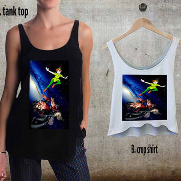 Harry Potter Chasing Peter. For Woman Tank Top , Man Tank Top / Crop Shirt, Sexy Shirt,Cropped Shirt,Crop Tshirt Women,Crop Shirt Women S, M, L, XL, 2XL**