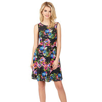 GARDEN PARTY SLEEVELESS DRESS: Betsey Johnson