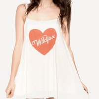 PIN-UP HEART BELLS BEACH DRESS at Wildfox Couture in  BCLD