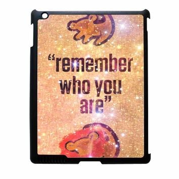 lion king samba remember who you are ipad 2 case  number 1