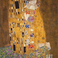 The Kiss, c.1907 Art Print by Gustav Klimt at Art.com