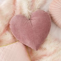 Corduroy Heart Throw Pillow | Urban Outfitters
