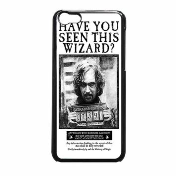 Sirius Black Wanted Poster Iphone 5C Case