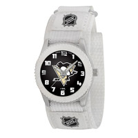 Pittsburgh Penguins NHL Kids Rookie Series Watch (White)