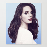 DEL REY LANA Stretched Canvas by Hands in the Sky