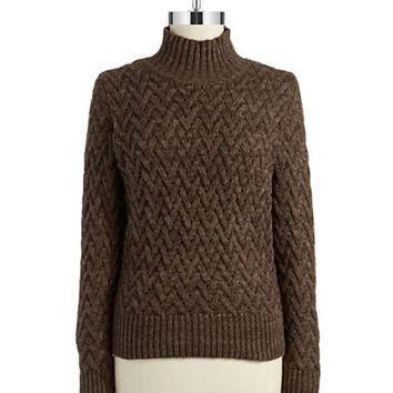 Vince Camuto Cable Knit Turtleneck