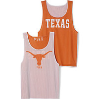 University of Texas Mesh Tank Jersey - PINK - Victoria's Secret