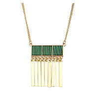 Wynn Gold & Jade Pendant Necklace