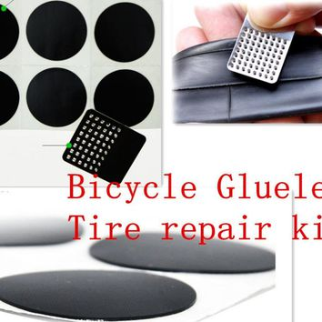 Road Bicycle tire repair kit Wheel repair patch cycling Glueless tube patch MTB Tyre tube patch bike hose cycling accessorie