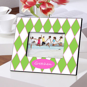 Personalized Color Bright Frames - Preppy Gems