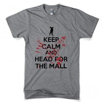 Keep Calm and Head for the Mall T Shirt