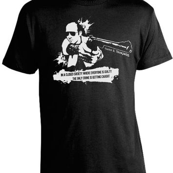 Hunter S. Thompson Closed Society Shirt