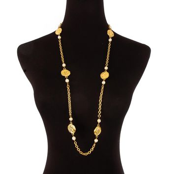 Chanel Ancient Charm Necklace