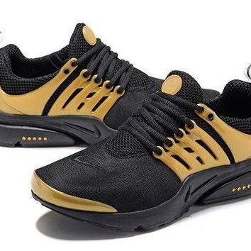 DCCKD9A Air Presto Black & Gold