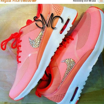 Custom Nike,Nike,Nike Custom,Nike Air Max,Nike AirMax,Nike Shoes,Trainers Sneakers, Swarovski Crystal,Women's Trainers