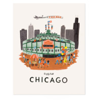 Chicago Art Print by RIFLE PAPER Co.   Made in USA