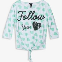 Follow Your Heart Top | FOREVER 21 - 2030188069