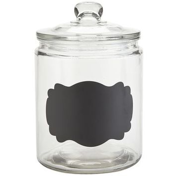 Chalk Note Canister - 1/2 Gallon