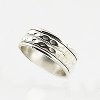 Spinner Ring - Sterling Silver Low Profile