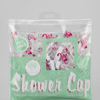 Flamingo Shower Cap - Urban Outfitters